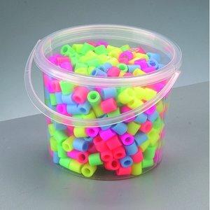Nabbi® Maxi pärlor - mix pastell 550 st i hink