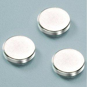 Neodymmagneter ø 10 mm - 100-pack (extra starka)