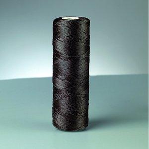 Nylontråd - svart 494 m / 50 g fyrdubbel