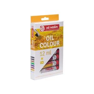 Oljefärger Art Creation Färgset 12 ml - 8 färger