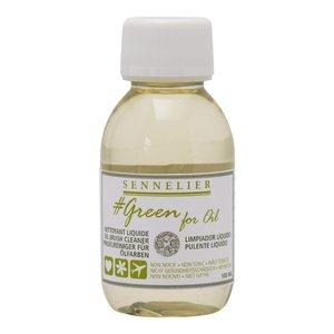 Oljemedium Sennelier Greenforoil - Brush Cleaner