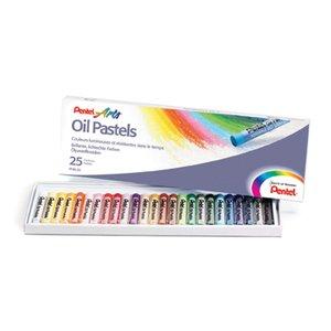 Oljepastellset - 25 kritor