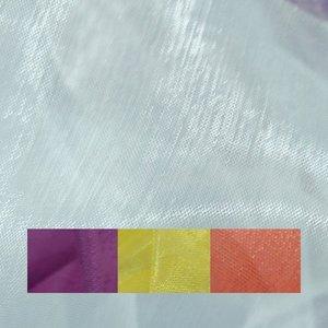 Organzatyg enfärgat - 150 cm