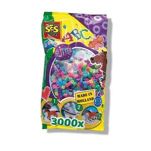 Pärlor 3000 st glitter