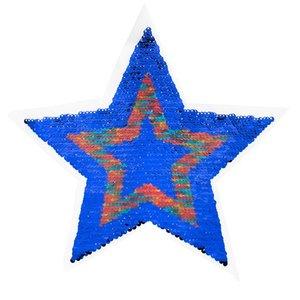 Paljettmärke Vändbart - Star