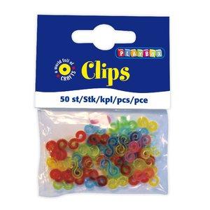 Plastclips 50 st/fp