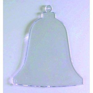 Plasthänge 90 mm - kristallklar klocka