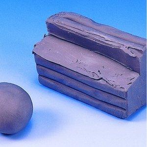 Plasticene modellera - grå 500 g