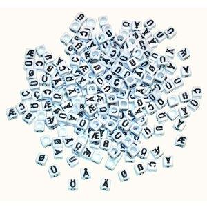 Plastpärlor Tecken - 300 st