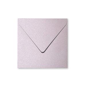 Pollen Kuvert 165x165- 20-pack - Skimrande salong rosa