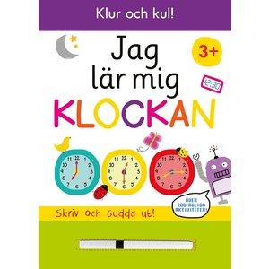Pysselbok Jag lär mig klockan