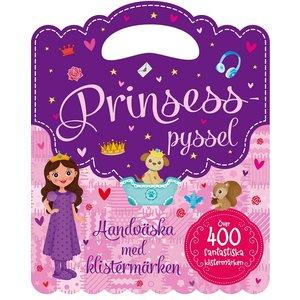 Pysselbok Prinsesspyssel -  (Med klistermärken)