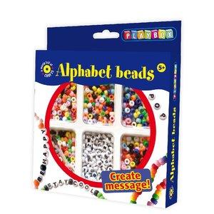 Pysselset Alphabet Beads