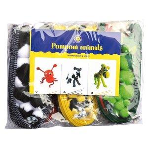 Pysselset pompom-djur (1)