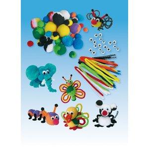 Pysselset pompom-djur (2)