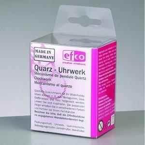 Quartz urverk + visare - 1 st. / 8 delar urtavla 5