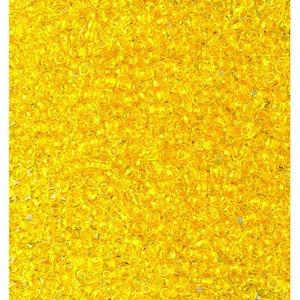 Rocaillespärlor genomskinliga - gul