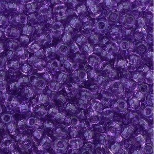 Rocaillespärlor genomskinliga - lila