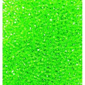Rocaillespärlor genomskinliga - ljusgrön