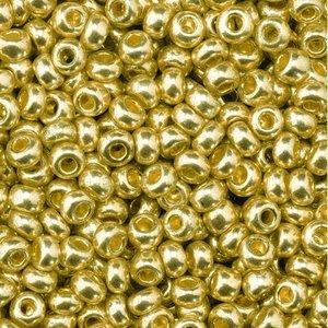 Rocaillespärlor metallic - åldrat guld