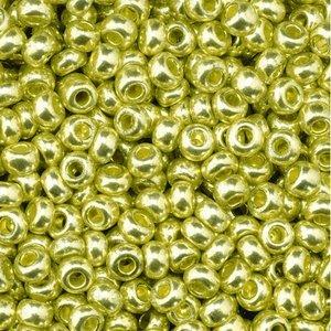 Rocaillespärlor metallic - guld