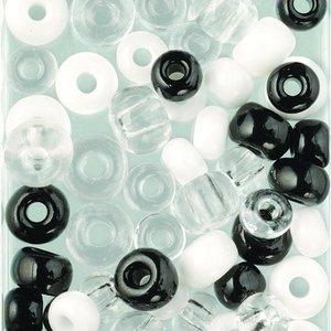Rocaillespärlor mix 5 - 8 mm / i 1