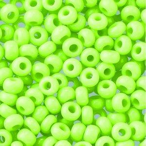 Rocaillespärlor ogenomskinliga - citron