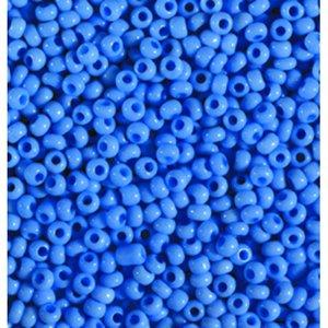 Rocaillespärlor ogenomskinliga - denimblå
