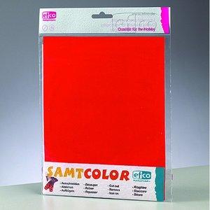 Samtcolor transfer 250 x 200 mm - röd 1 st.