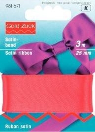 Satinband 6-25mm - Flera färger