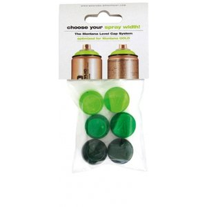 Set med spraymunstycken Level 1-6 - 6-pack