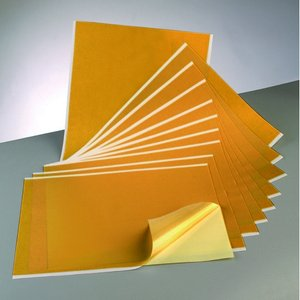Självhäftande folie 300 x 400 mm - transparent i mapp