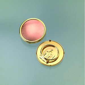 Sjalsclip för emaljering ø 36 mm - guldpläterad rund