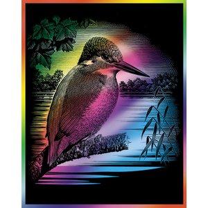 Skrapfolie Rainbow - 305x229mm