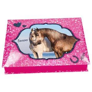Skrivset Horses Dreams - Rosa