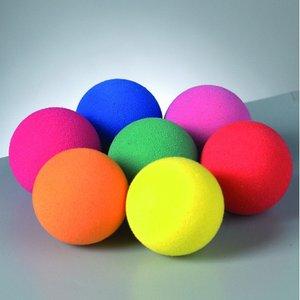 Skumgummibollar - blandade färger