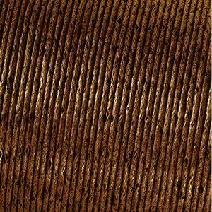 Snöre vaxad bomull - brun
