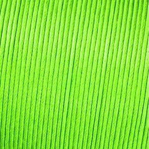 Snöre vaxad bomull - ljusgrön