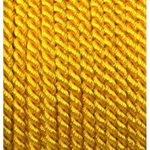 Snöre viskos 4 mm - 25 meter - gul