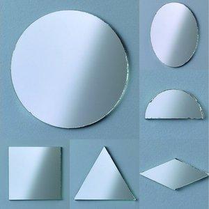 Speglar i flera olika former