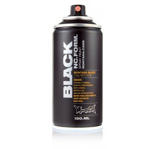 Sprayfärg Montana Black 150ml