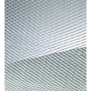 Ståltrådsnät 4 x 6 mm / 40 x 100 cm - aluminium