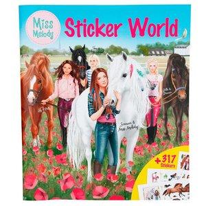 Stickersbok Miss Melody - Stickerworld