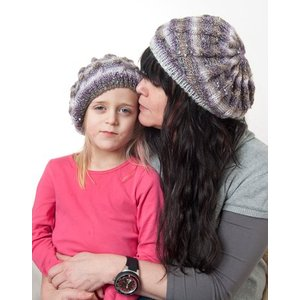 Stickmönster - Basker till barn och dam