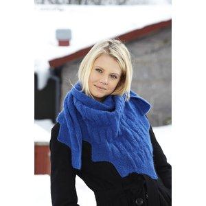 Stickmönster - Mönsterstickad sjal