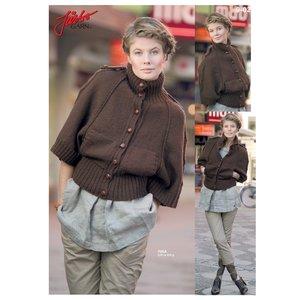 Stickmönster - Uniform inspirerad kofta
