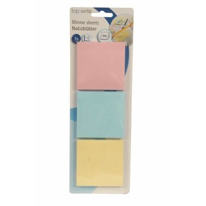 Sticky Notes Kvadrat - Pastell