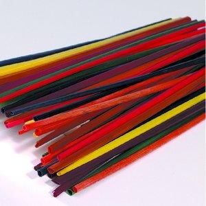 Strån 22 cm - blandade färger 50 st.