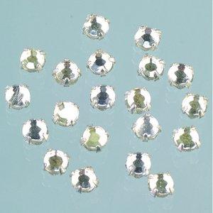Strasstenar ø 3-5 mm - kristall 20-pack fastsys