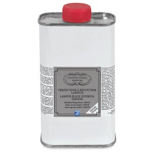 Svart Stopout Lack Charbonnel Ink. Medium - 250 ml